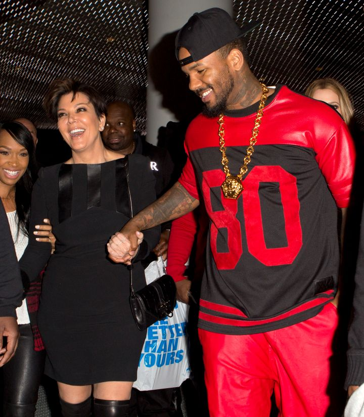 That time Kris partied until the early morning hours at a nightclub with Khloe, The Game, and Malika.