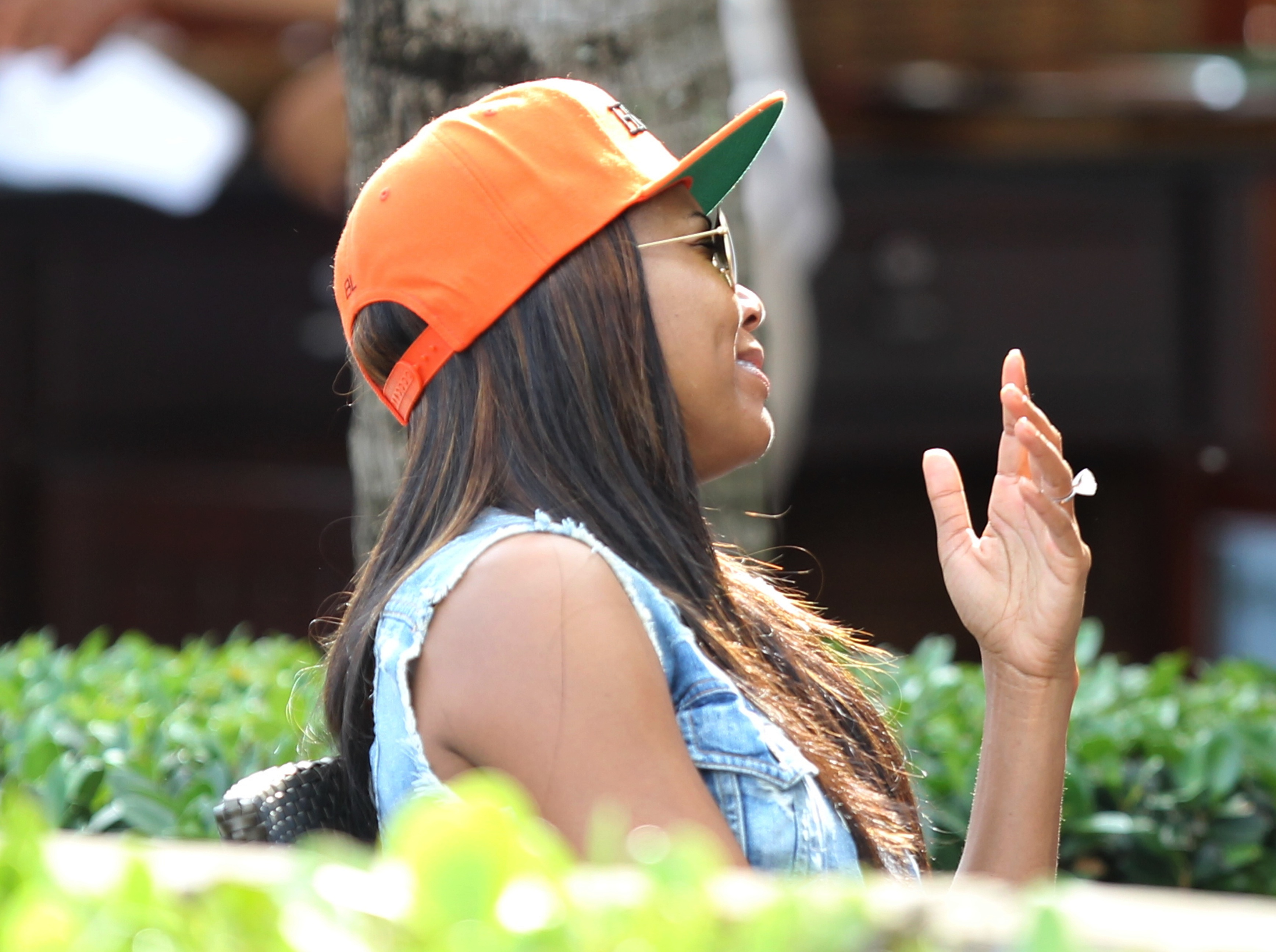 Gabrielle Union engagement ring lunch date miami dwayne wade
