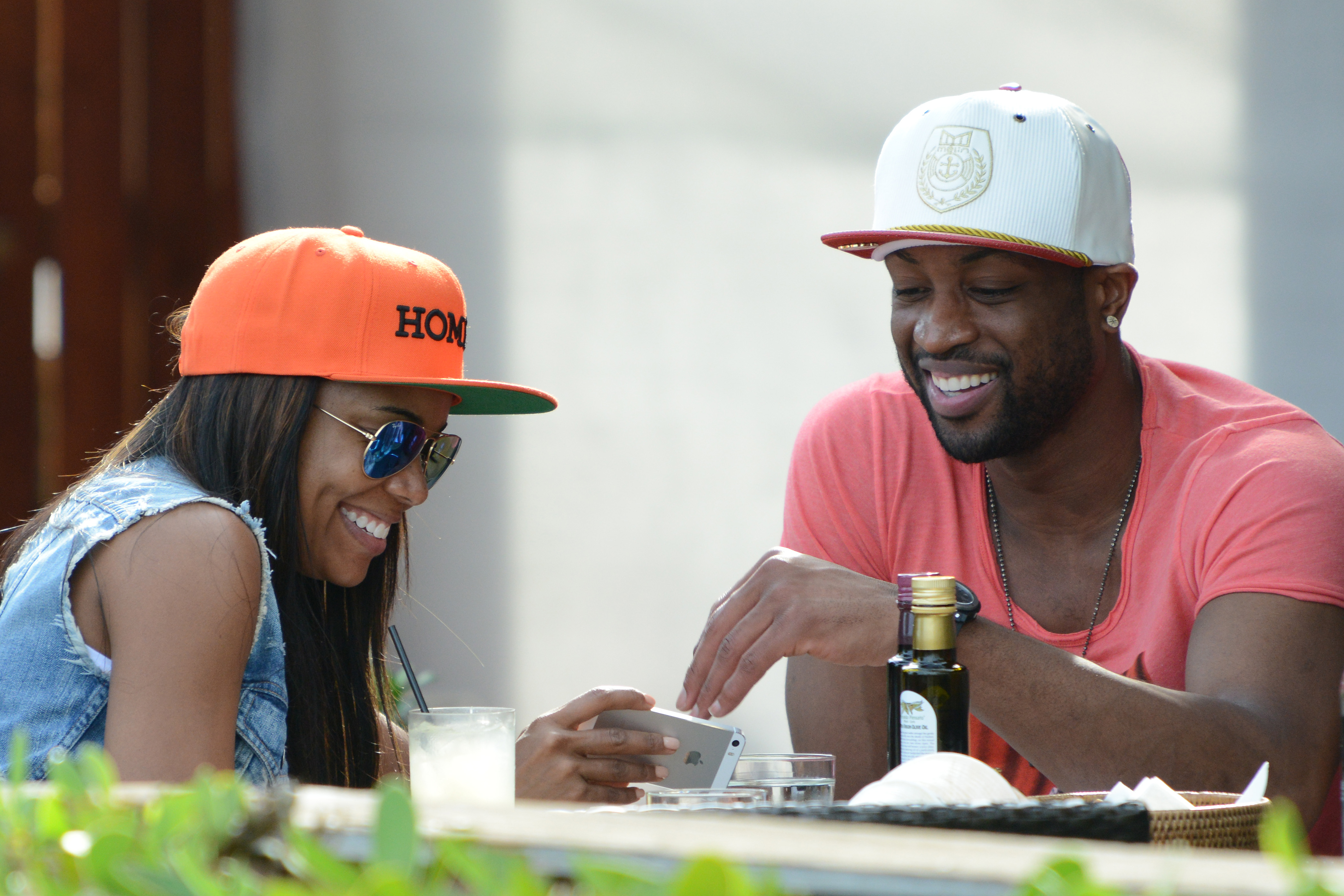 Dwyane Wade and Gabrielle Union out for lunch