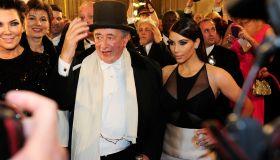 kim kardashian Vienna Ball Richard Lugner date