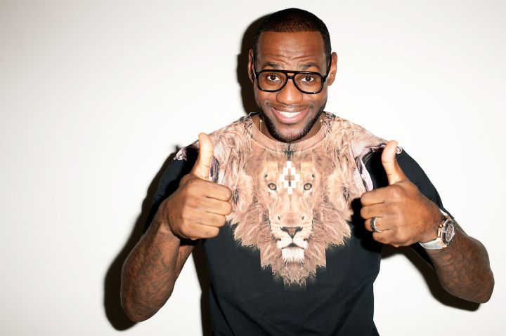 LeBron James poses for Terry Richardson and GQ.