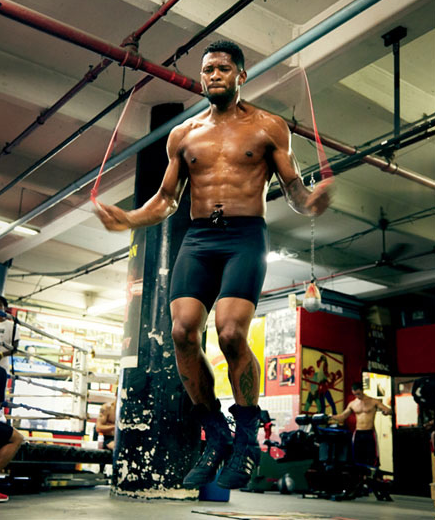 Usher's body is its own entity.