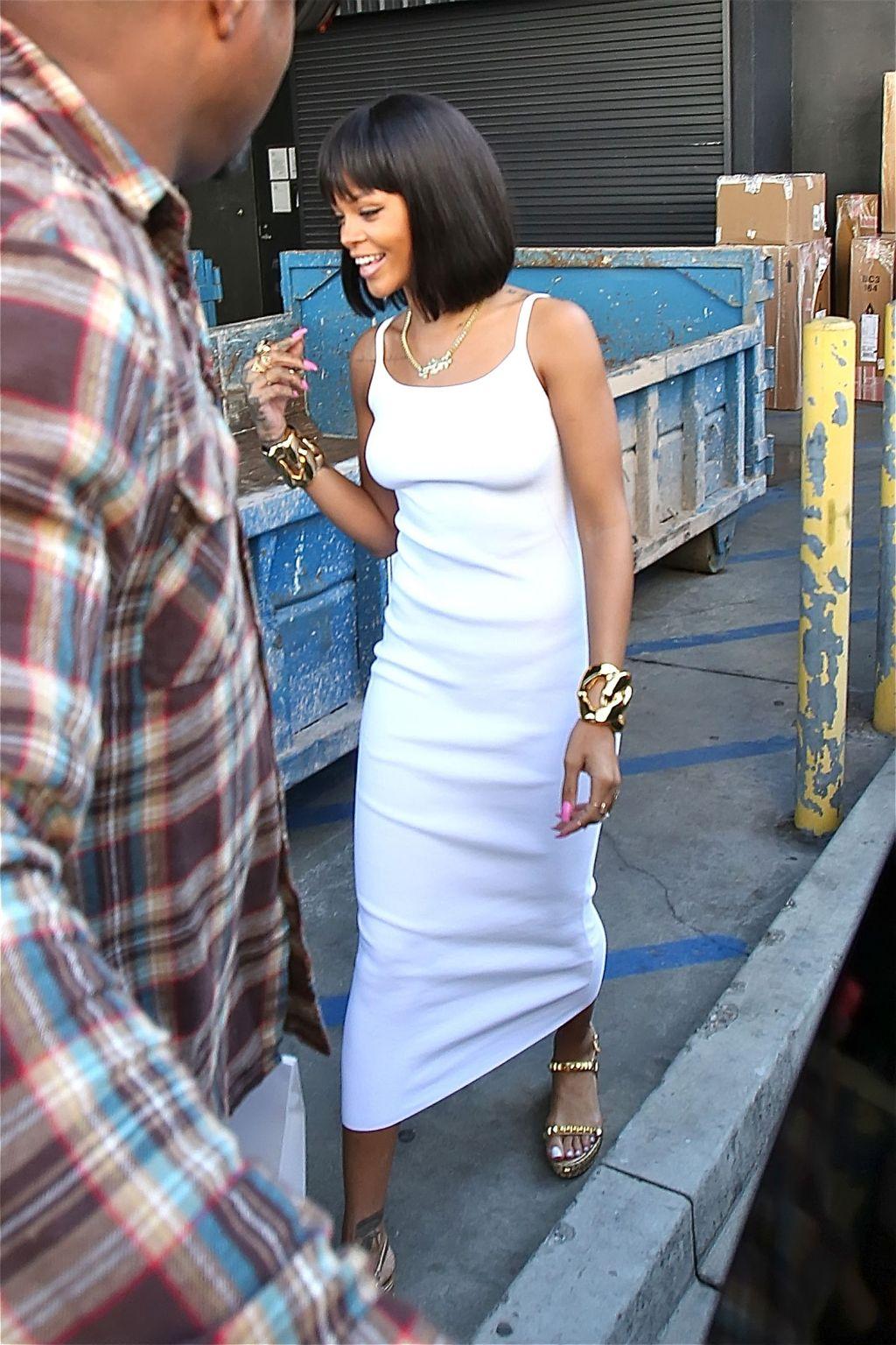 Rihanna in Beverly Hills