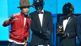 pharrell hat grammys 2014 daft punk