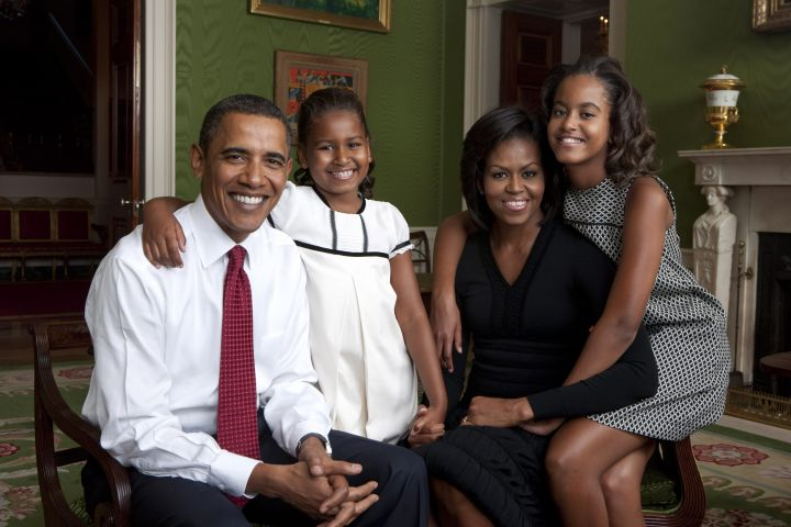 Another First Family portrait from the White House.