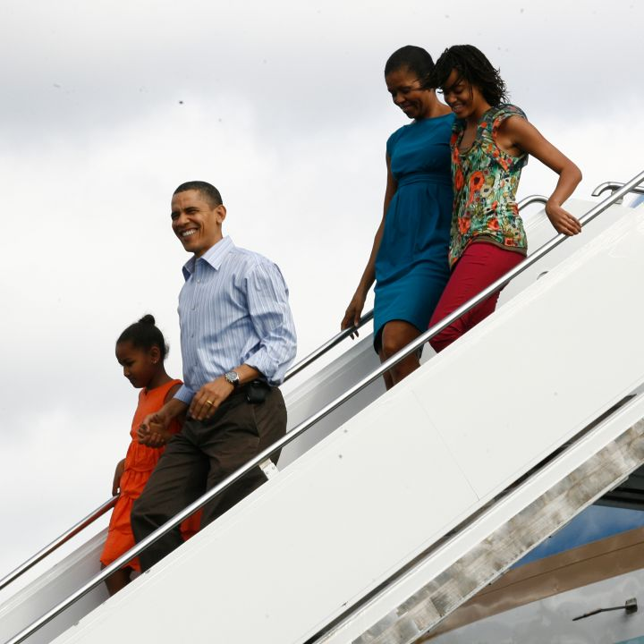 The Obamas say 'Aloha' to Hawaii in style.
