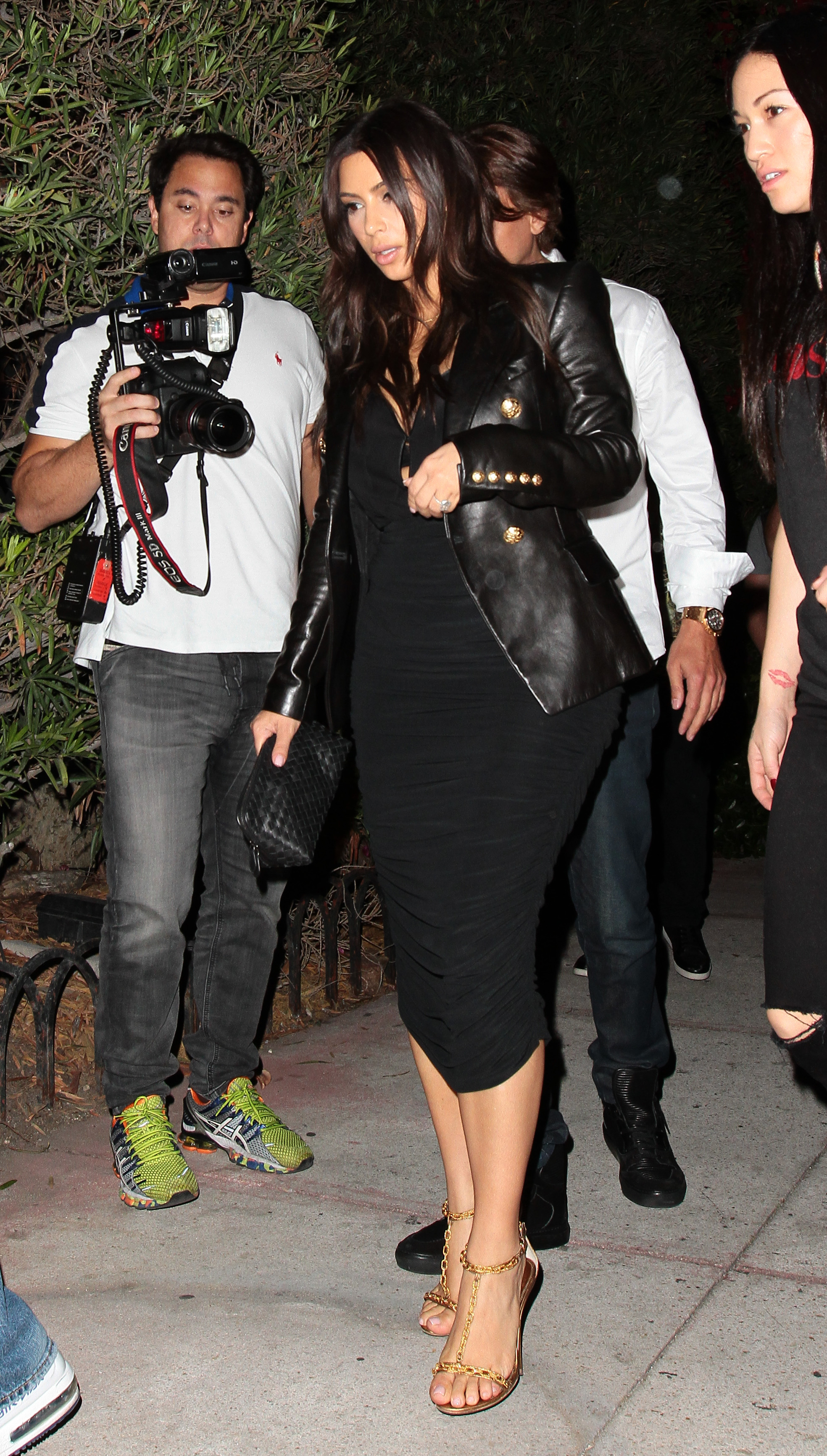 Kim Kardashian out and about in Miami Beach