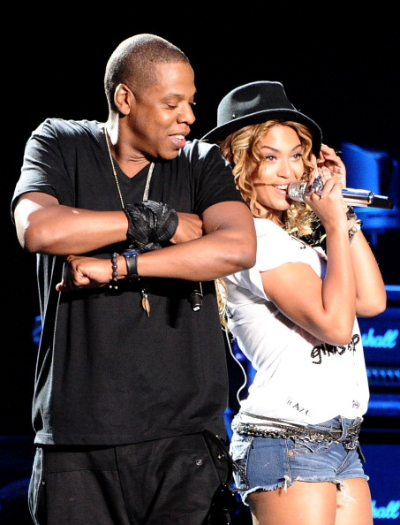 """When Beyonce joined her hubby Jay Z on his Coachella set for """"Young Forever,"""" it further proved just how much chemistry they have."""