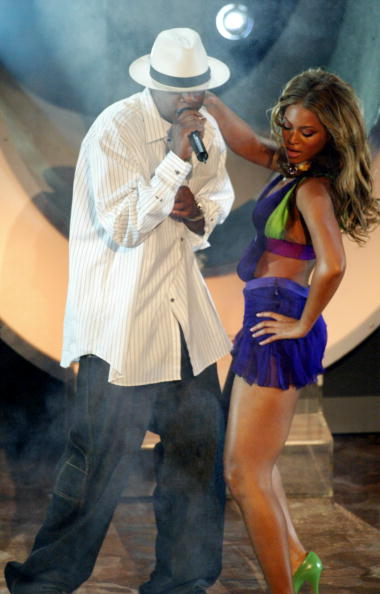 Beyonce and Jay-Z perform on stage at the 3rd Annual BET Awards Show