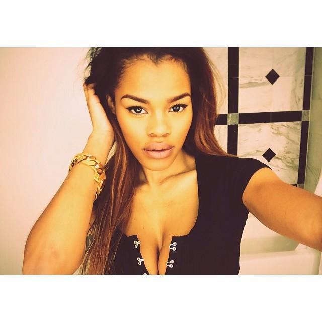 Teyana's selfie game is on point!