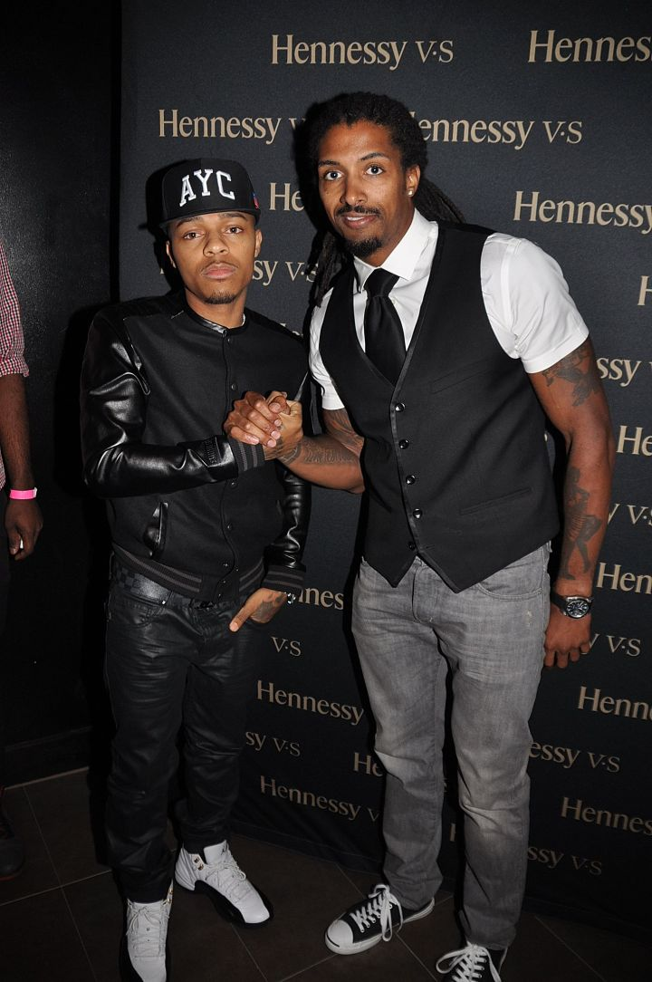Bow Wow and Hennessy's Milton Yates.