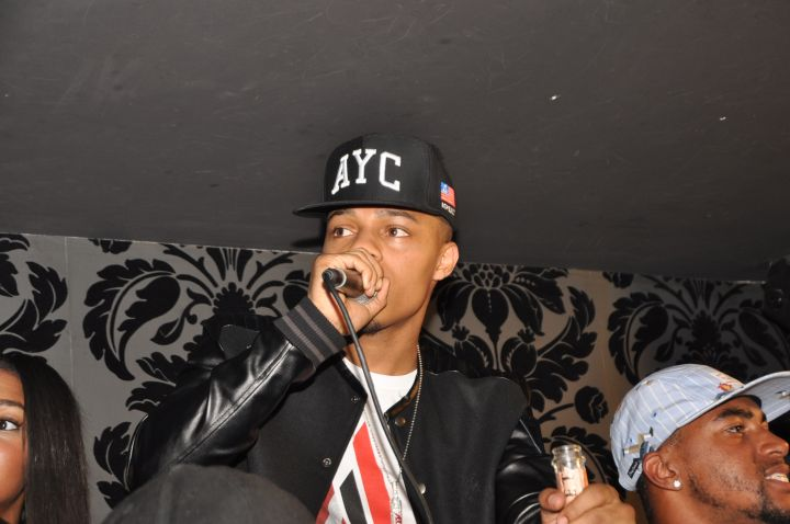 Bow Wow performing.