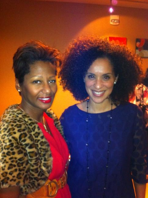 """Karyn Parsons, aka Hilary Banks from """"The Fresh Prince of Bel-Air."""""""
