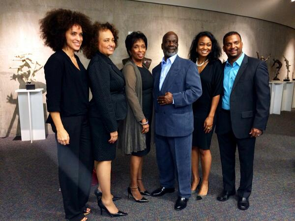 """Karyn Parson and the cast of """"Fresh Prince"""" reunite."""