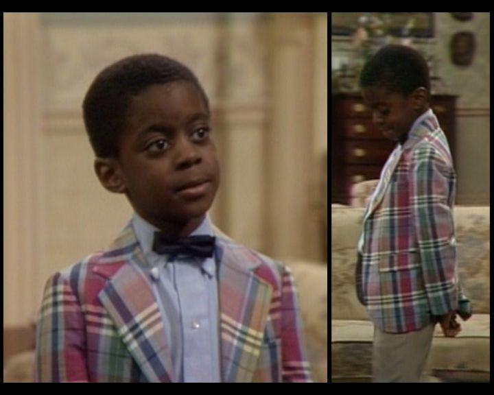 "Deon Richmond, aka Kenny, aka Bud, from ""The Cosby Show."""