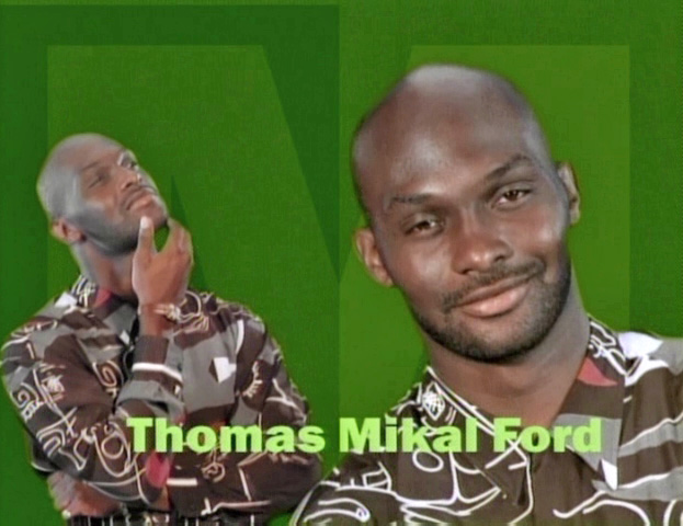 """Tommy Mikal Ford as Tommy from """"Martin."""""""