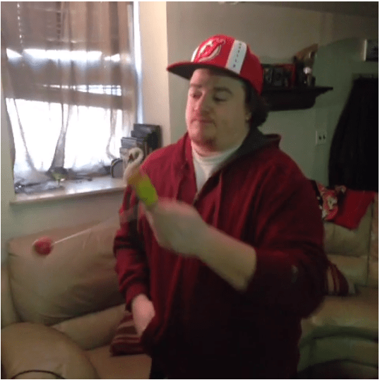 """Danny Tamberelli, aka Pete, from Nick's """"The Adventures of Pete & Pete."""""""