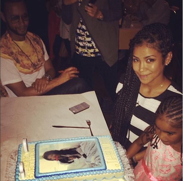 Celebrating Her Mommy's 26th Birthday.