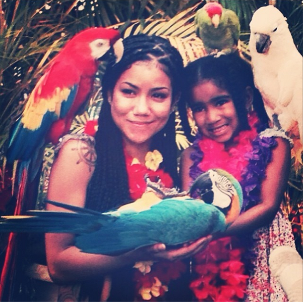 Parrot Petting Zoo.