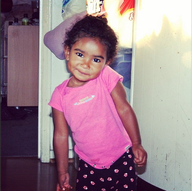 Isn't she so cute? #BabyNamiko