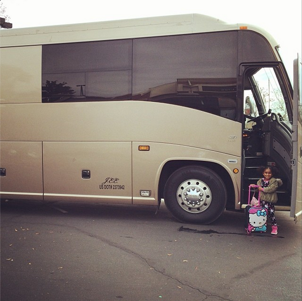 Hitting The Road With Mommy.