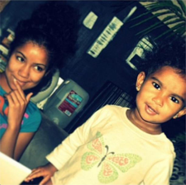 Baby Nami & A Young Jhene Aiko.