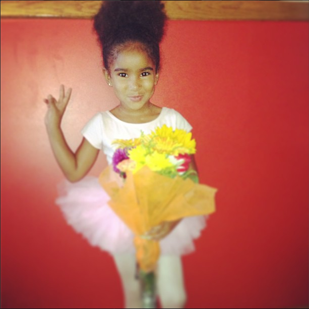 Peace Signs, Tutus, and Flowers.