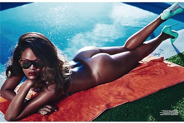 Rihanna for Lui magazine.