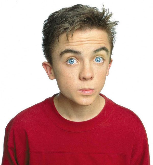 """Frankie Muniz from """"Malcolm in the Middle."""""""