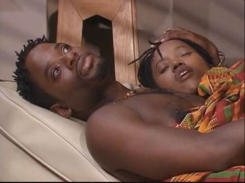"""Maxine and Kyle from """"Living Single."""""""