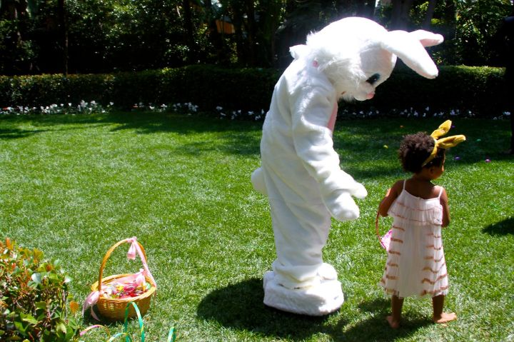blue ivy easter bunny