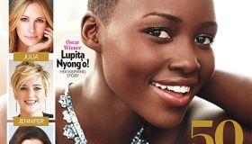Lupita Nyong'o people magazine cover most beautiful person 2014