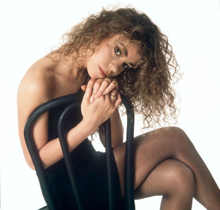 1990 photoshoot with Frank Micelotta.