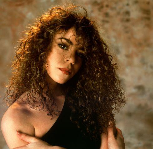 Portrait Mariah Carey photoshoot