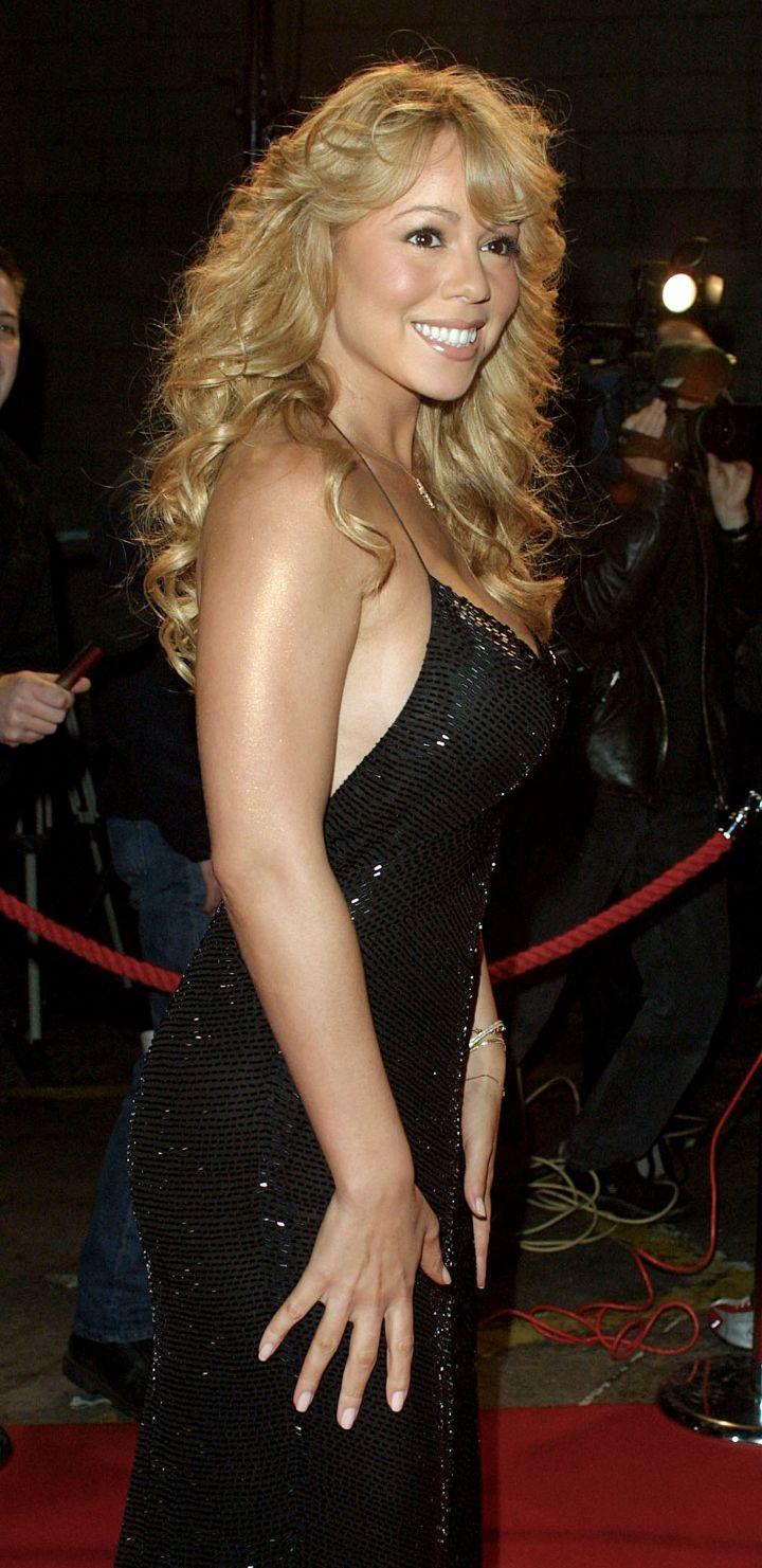 Mariah in 2001.