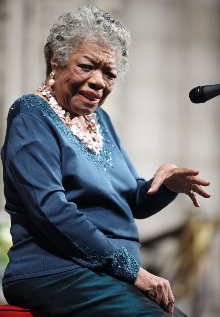 """""""You may write me down in history With your bitter, twisted lies, You may tread me in the very dirt But still, like dust, I'll rise"""" -Maya Angelou"""