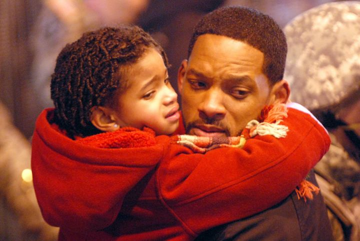 """Willow On The Set Of """"I Am Legend."""""""