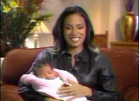 Jada Showing Off Baby Willow.