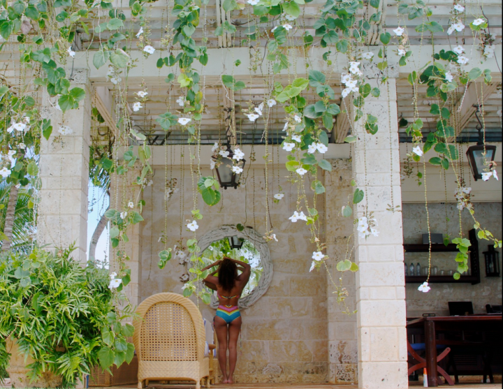 Beyonce giving everyone vacation envy.