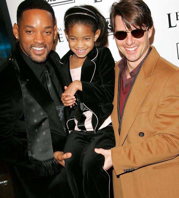 Willow With Dad & Uncle Tom.