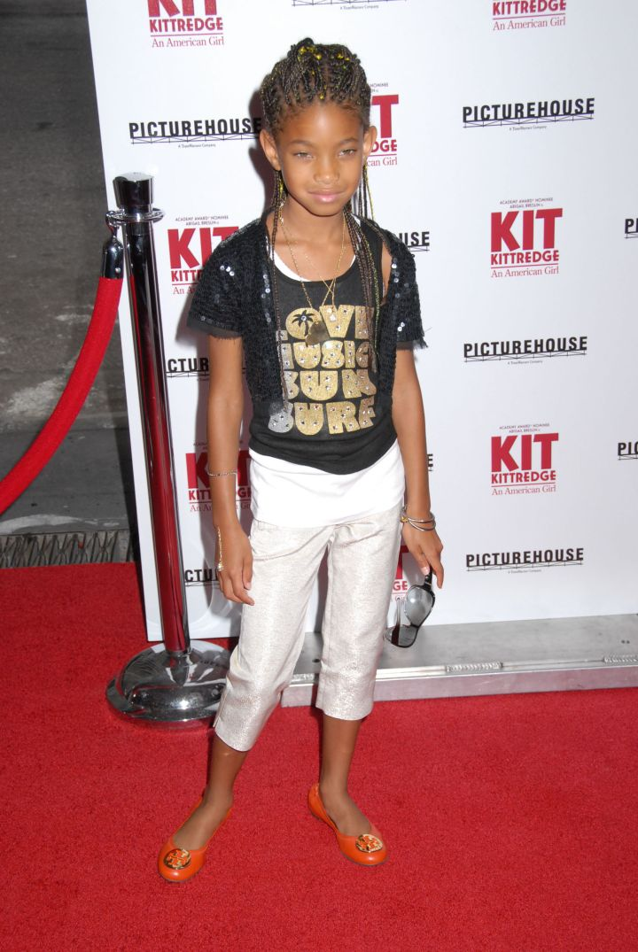 At The American Girl Doll Premiere.