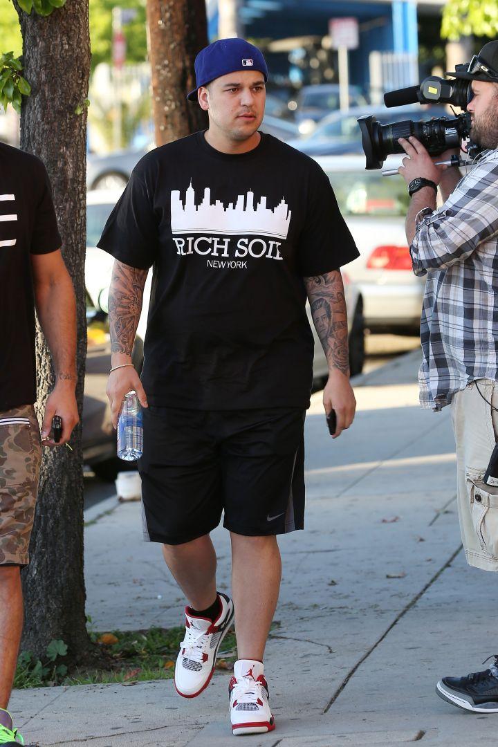 Rob Kardashian March 2013.