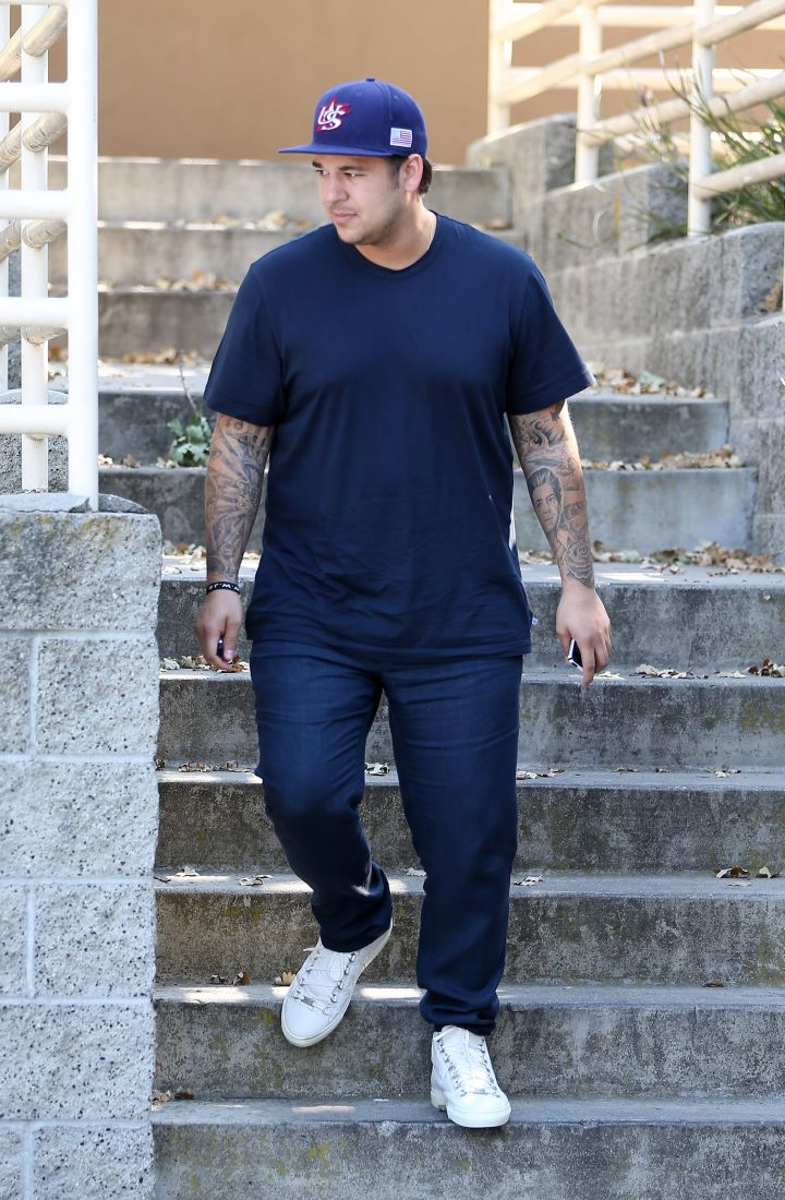 Rob Kardashian July 2013