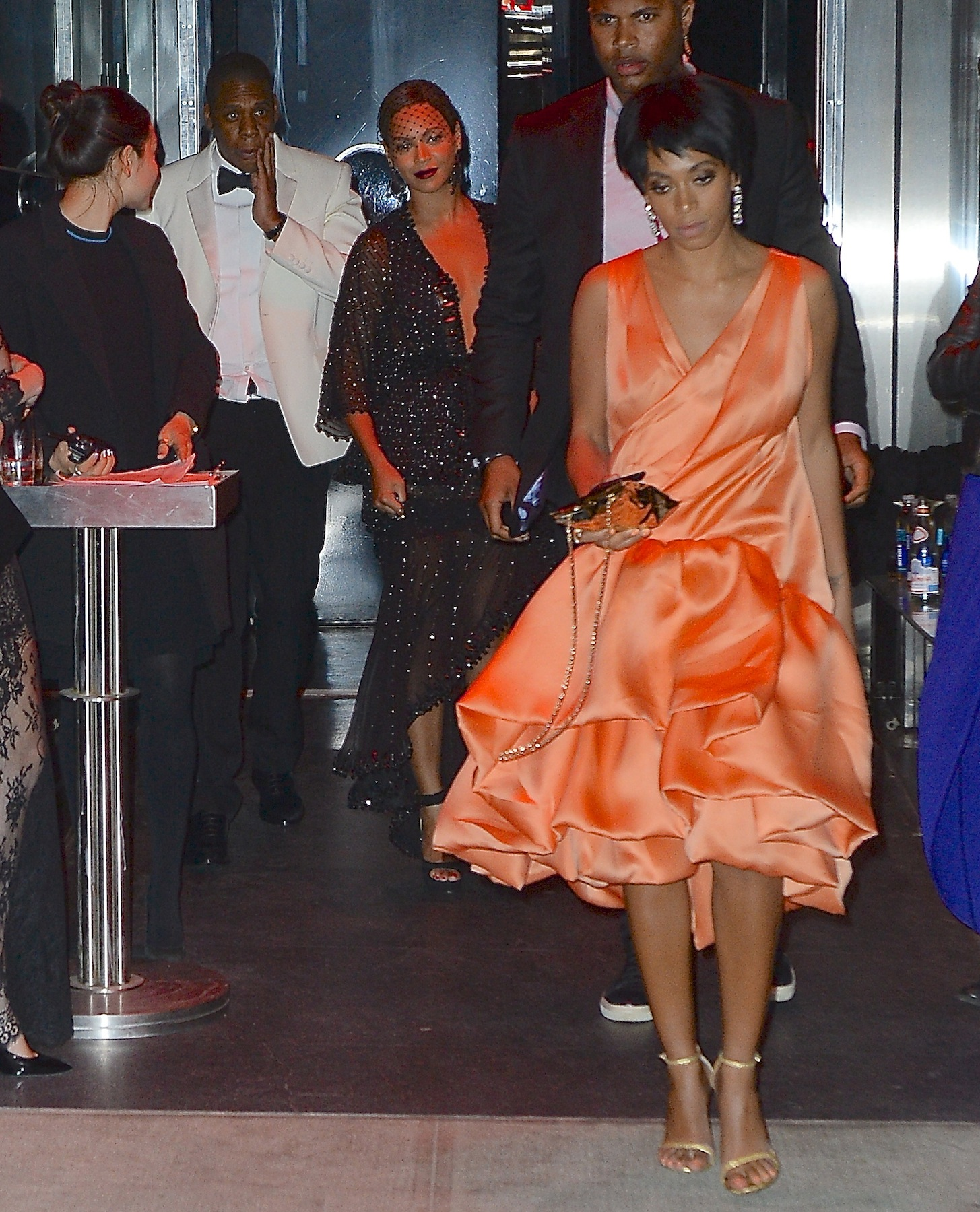 Beyonce and Jay-Z Party with Solange at Met Gala After Party