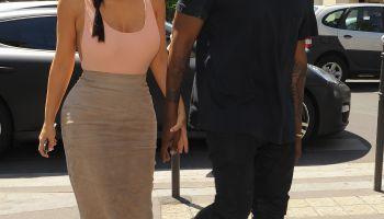 kim kardashian kanye west paris wedding week