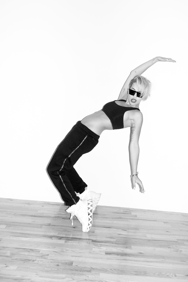 Rita Ora poses for Terry Richardson.