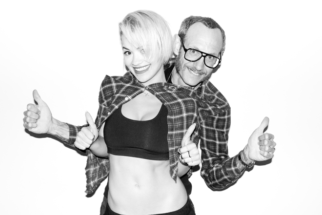 Rita Ora & Terry Richardson.
