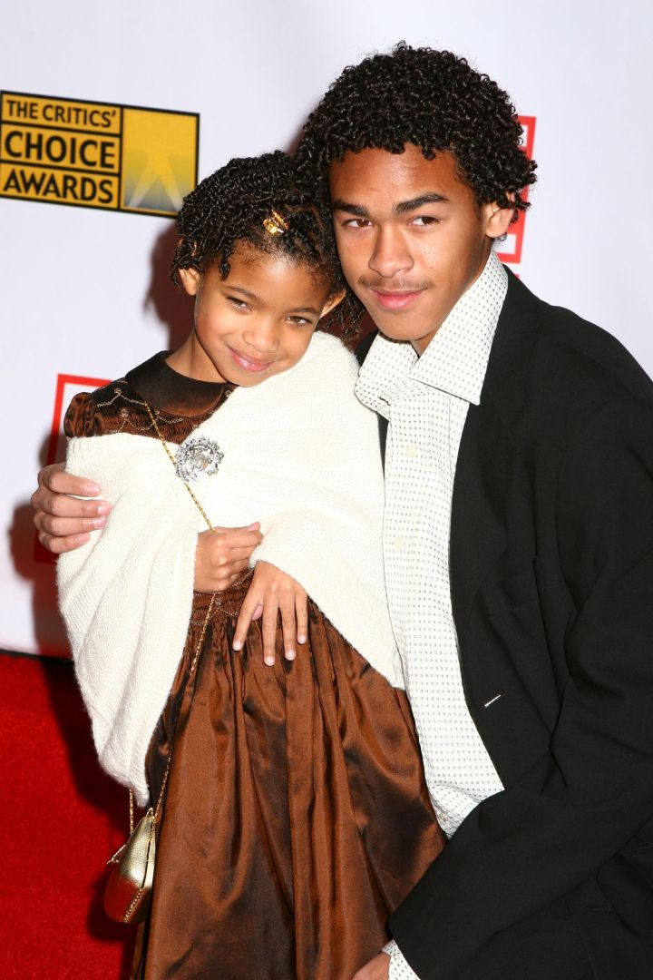 Willow With Her Big Brother Trey.