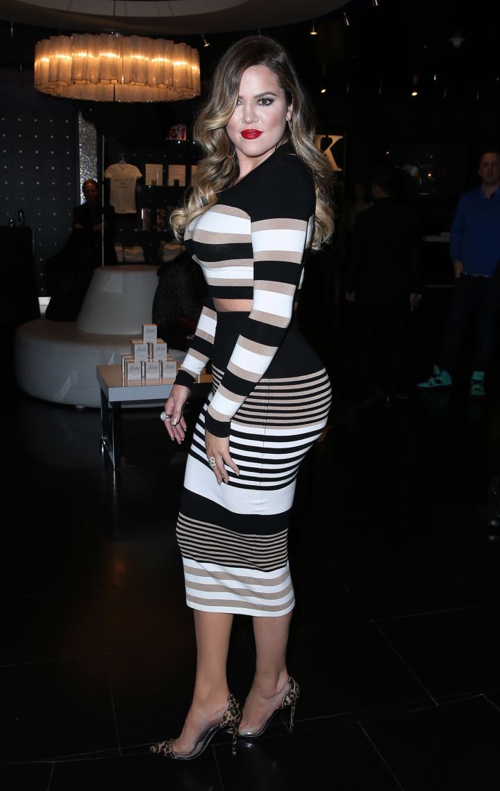 That ass in stripes.