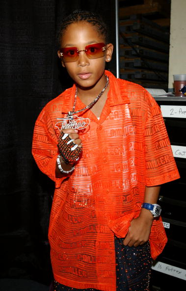 Throwback of Lil Romeo.